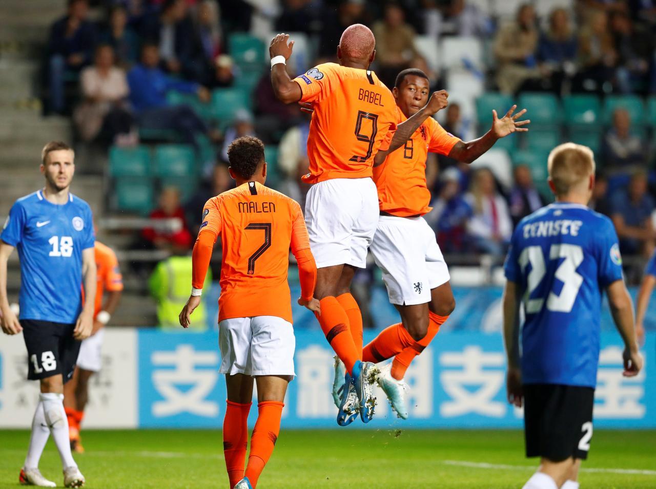 Image result for holland vs estonia 4-0