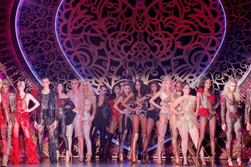 The Blonds host N.Y. Fashion Week show with Moulin Rouge on Broadway