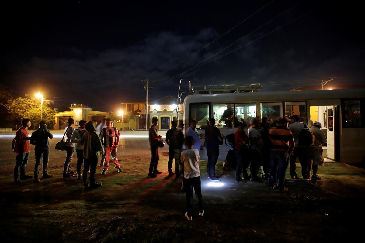 Honduras sê nie die veilige migrasie-transaksie met VSA nie