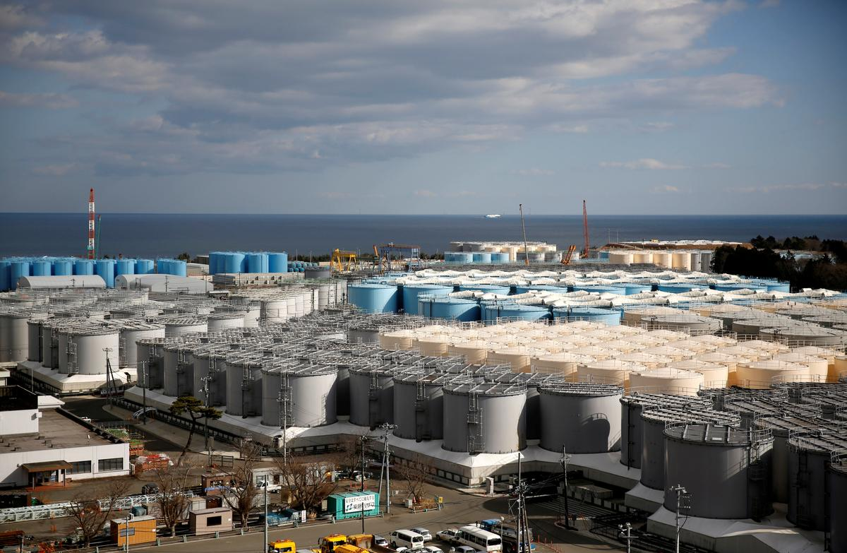 'Japan may have to dump radioactive water into the sea, minister says' /