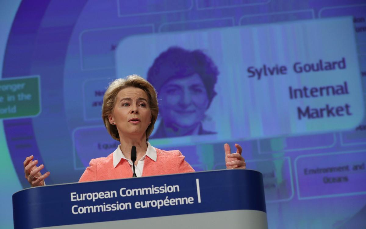 EU-uitvoerende beampte hou Vestager in die kompetisie, plaas die Ier in 'n handelsrol