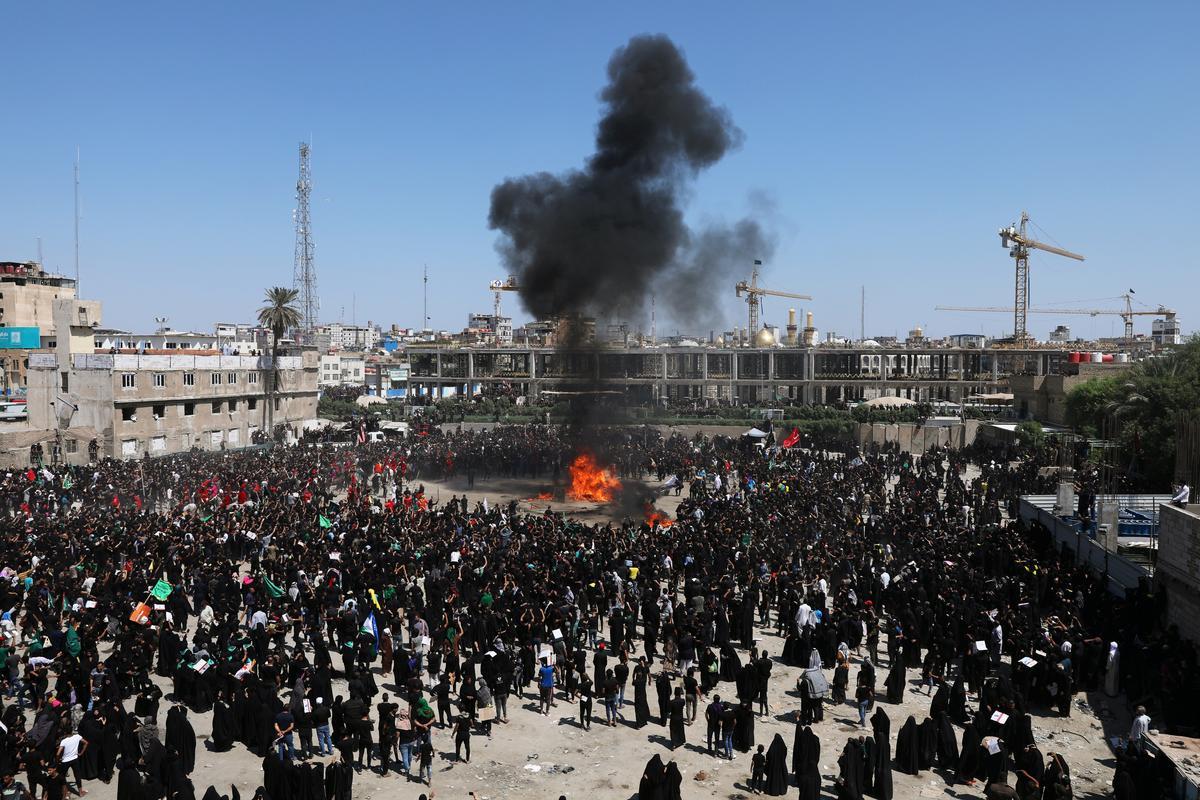 Minstens 31 sterf tydens stempel tydens Ashura-rituele in Kerbala in Irak