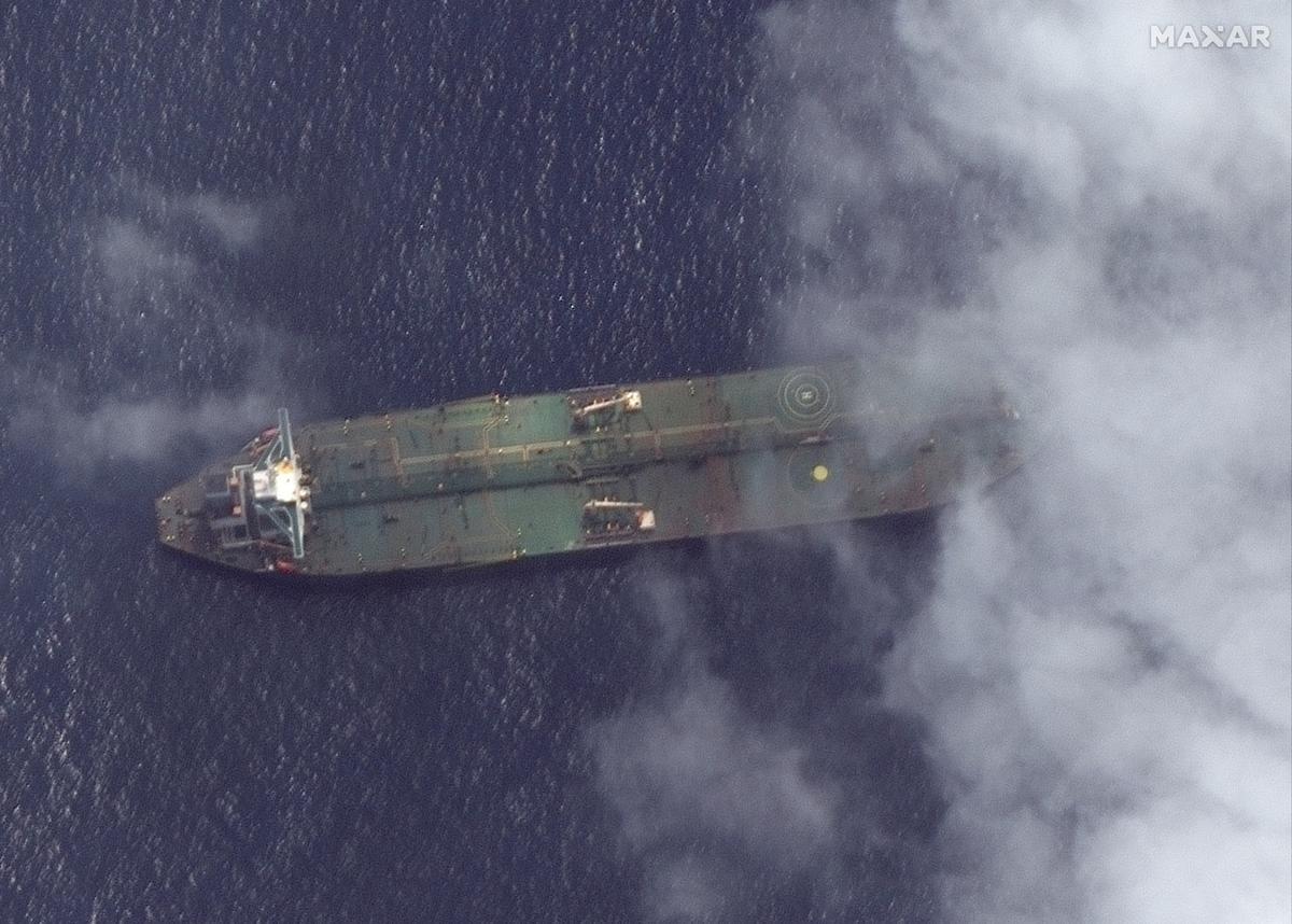 Brittanje beskuldig Iran daarvan dat hy Adrian Darya 1 tenkwa-olie aan Sirië verkoop het
