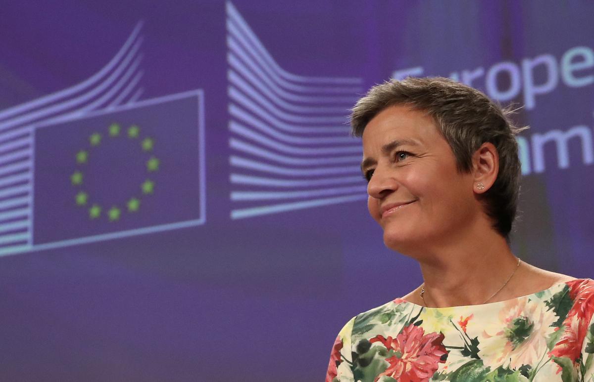 EU-antitrusthoof, Vestager, kry nog vyf jaar termyn met meer magte