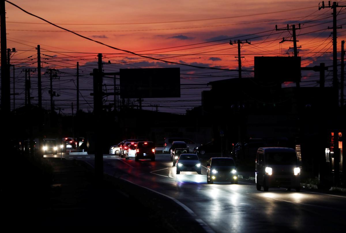 Japan se Tepco sukkel om die mag na tyfoon te herstel