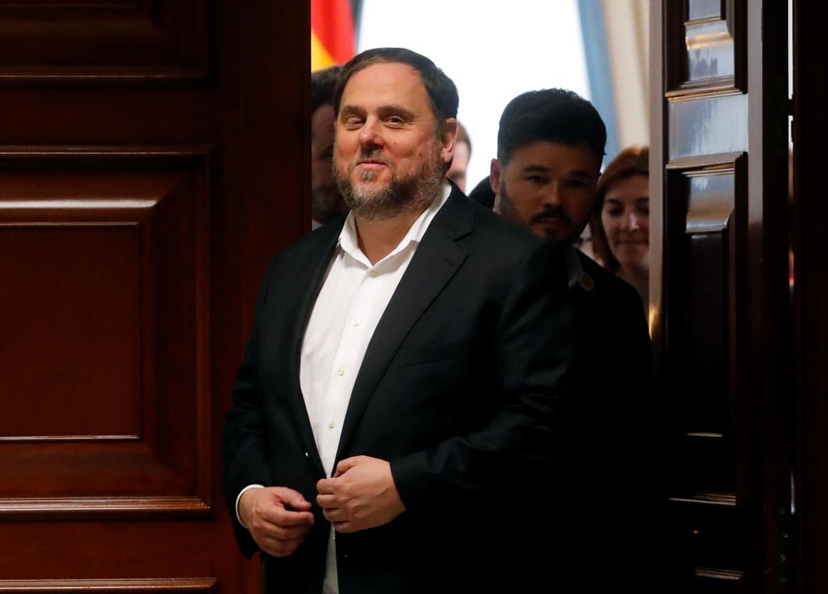 Katalaanse leier wat in die tronk is, sê Spanje wil die separatisme 'onthoof'