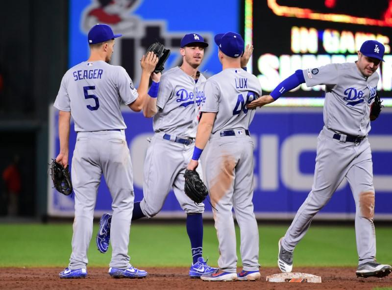 MLB roundup: Dodgers clinch seventh straight division title