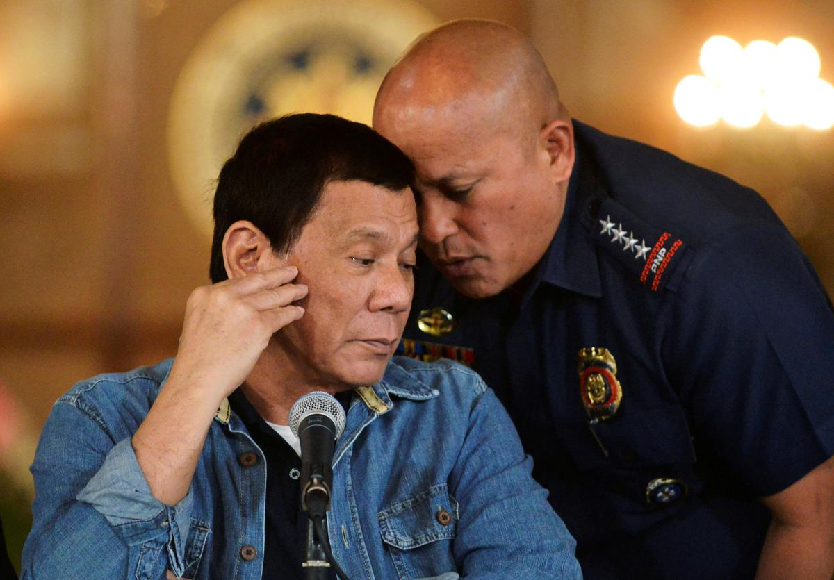 Who let the villains out? Philippines crime-busting president...