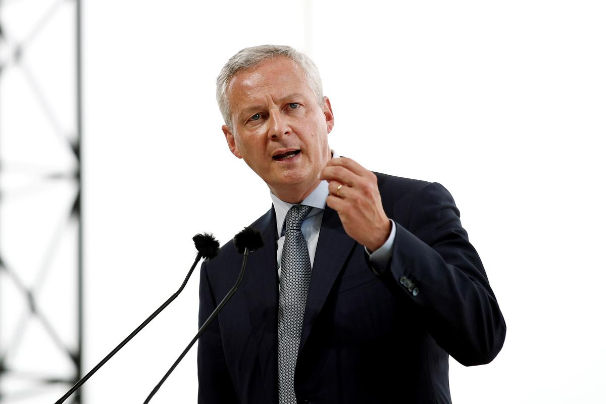 Kogels, doodsdreigemente aan die Franse minister van finansies gestuur: hulp