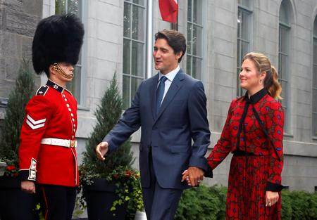 UPDATE 1-Canada's Trudeau, star dimmed by scandals, kicks off tough re-election campaign
