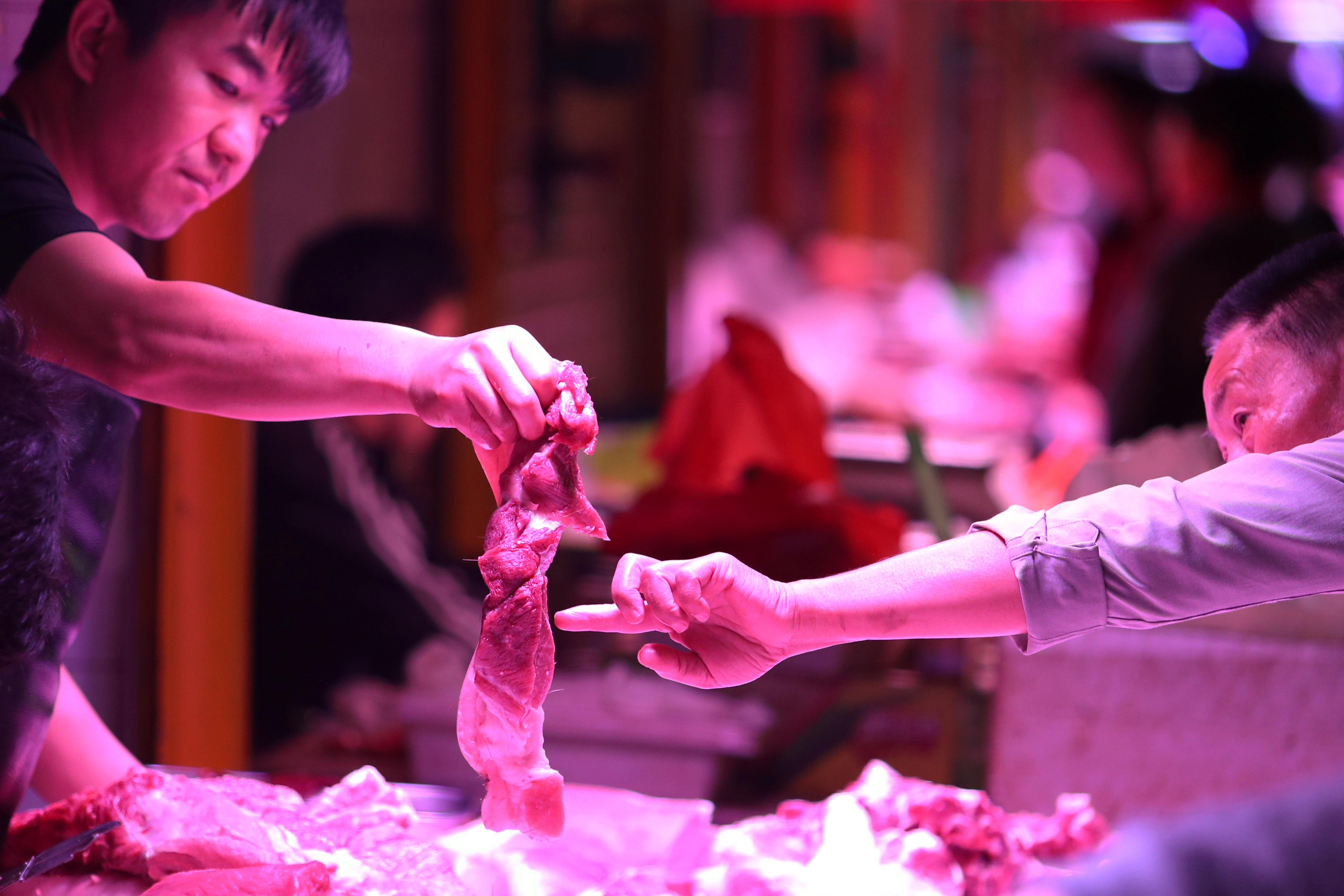 China says pork supply will be enough for upcoming holidays