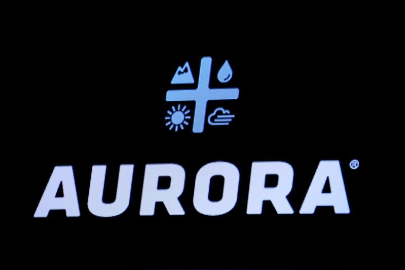 Aurora Cannabis revenue misses on lower prices; shares fall