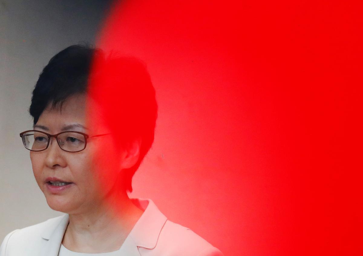 Eksklusief: die uitvoerende hoof 'moet twee meesters' dien - die HK-leier Carrie Lam - volledige transkripsie