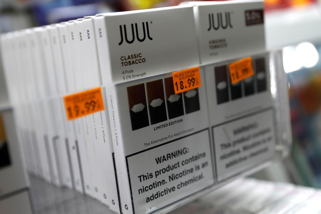 Amid U S  vaping crackdown, Juul enters China with online