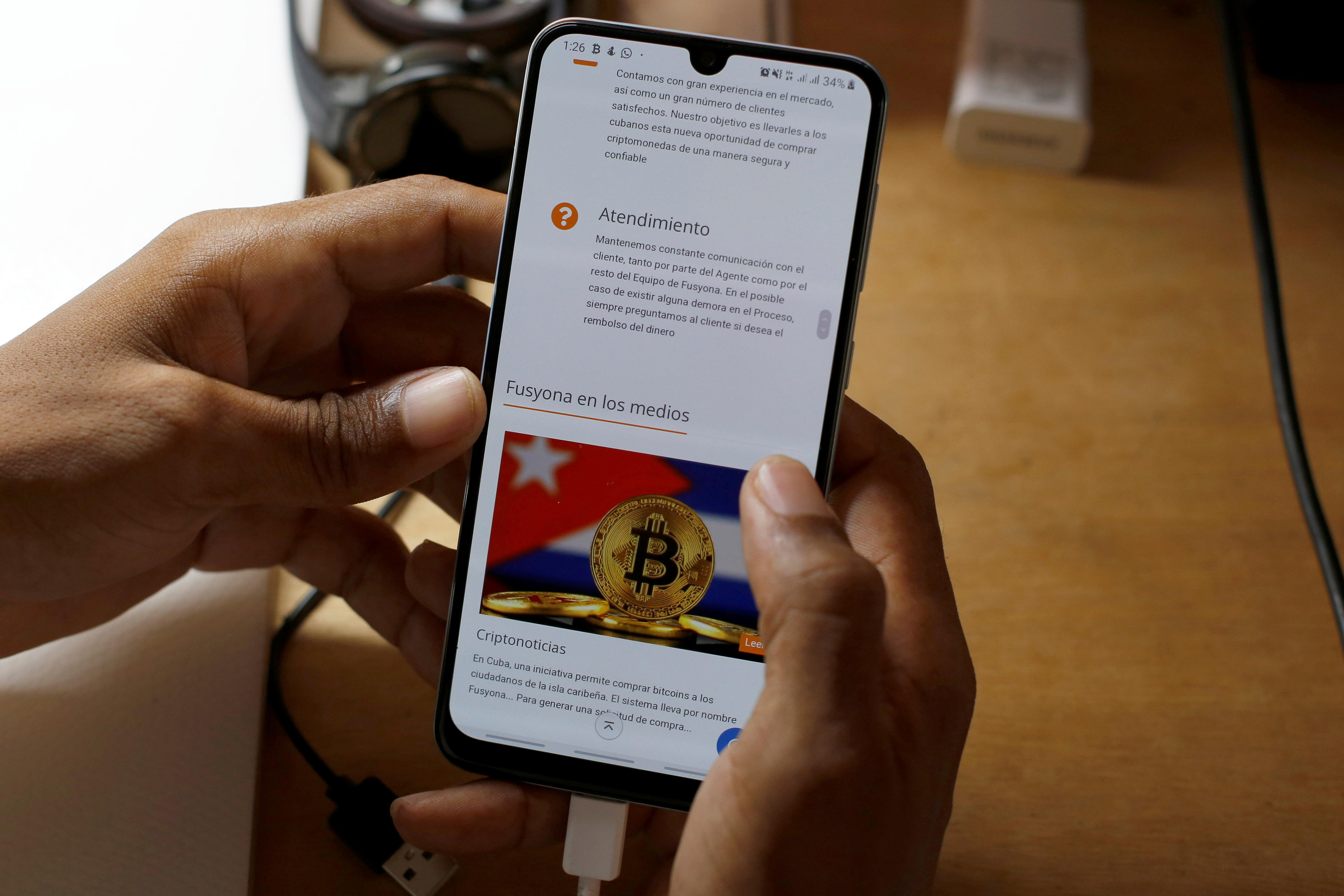 Skirting U.S. sanctions, Cubans flock to cryptocurrency to shop online, send funds