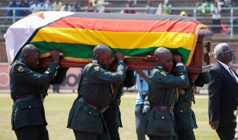Mugabe to be buried at Zimbabwe national shrine on Sunday, nephew says