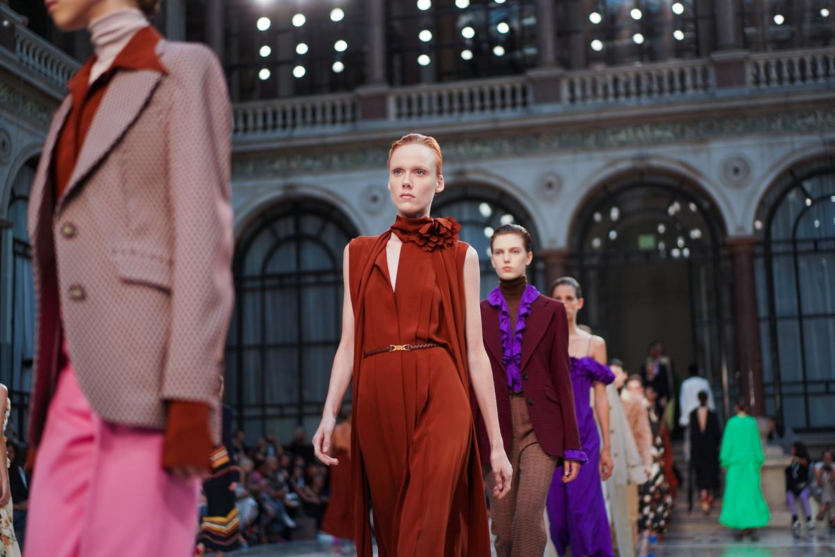 Victoria Beckham sees 'women in motion' for next spring at London...