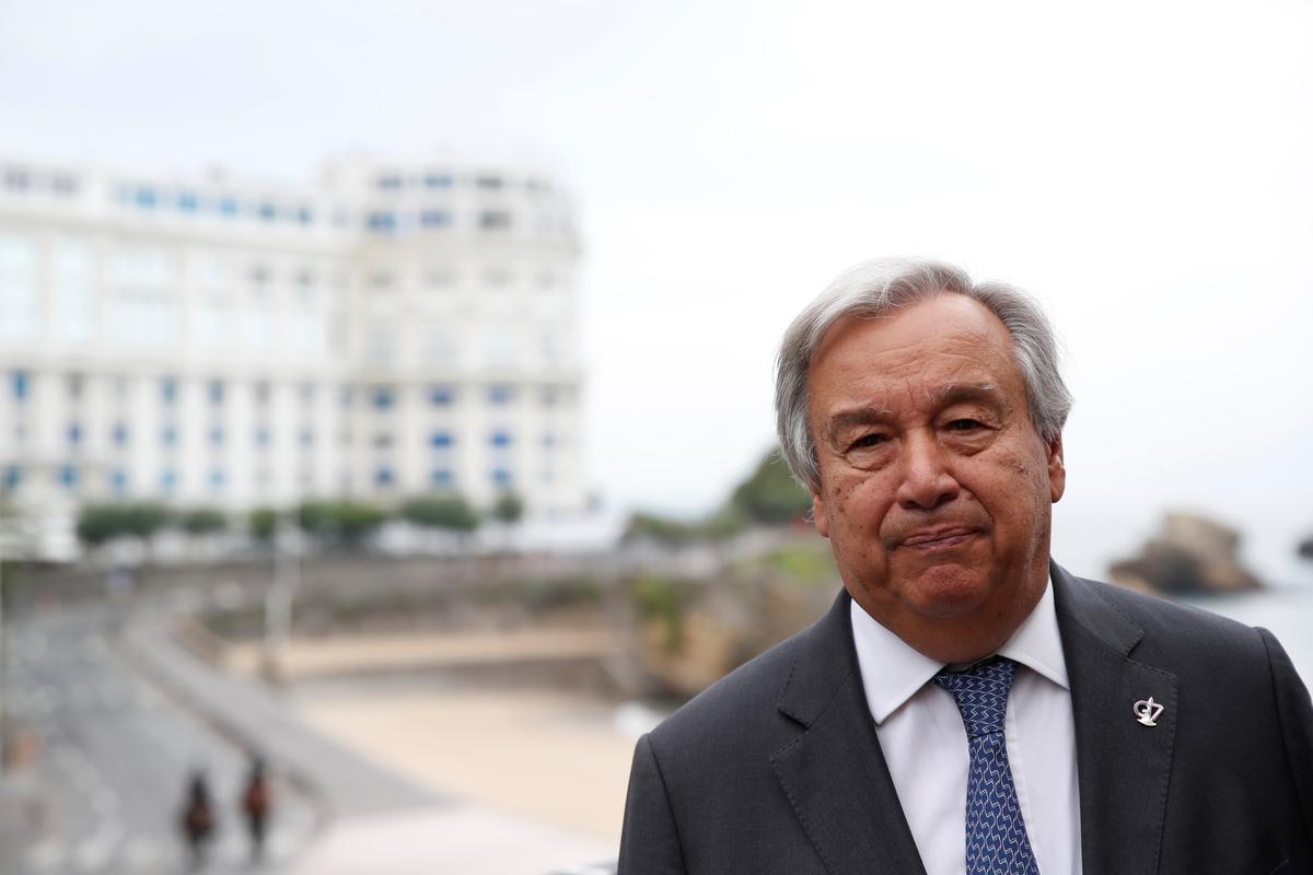 U.N. chief condemns Saudi attacks, calls for restraint