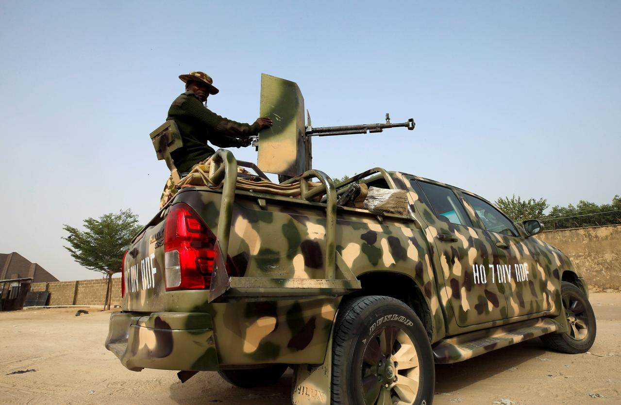 Image result for Islamic State fills the void in Nigeria as soldiers retreat to 'super camps'