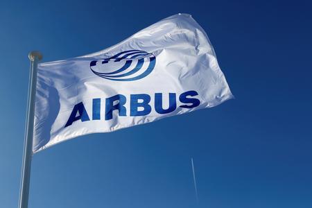 Airbus, French exporters slip as U.S. tariffs loom in subsidy row