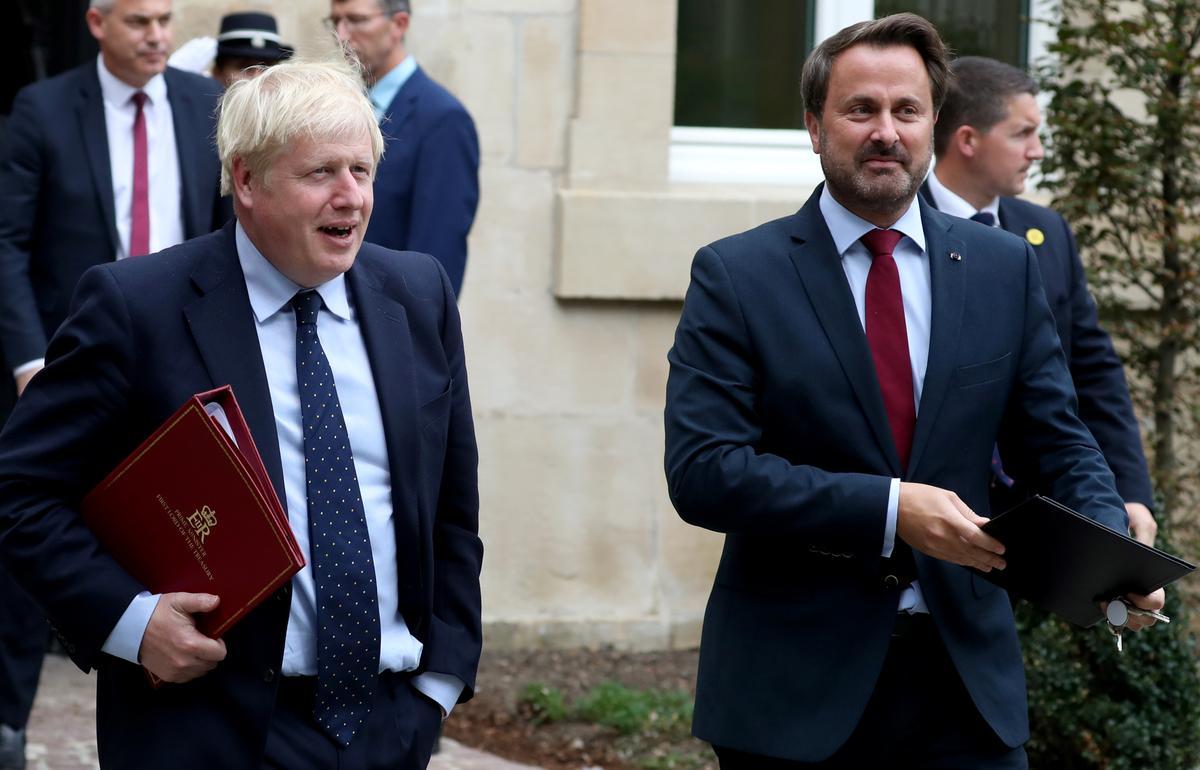 Die premier van Luxemburg, Bettel, sê dat hy die premier Johnson wil uitvoerbare Brexit-oplossing voorstel