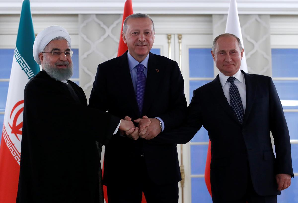 Turkye, Rusland, Iran moet meer verantwoordelikheid neem vir die vrede van Sirië: Erdogan