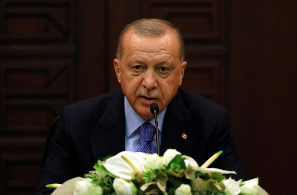 Erdogan sê tot 3 miljoen Siriese vlugtelinge kan na die 'veilige sone' terugkeer as dit uitgebrei word