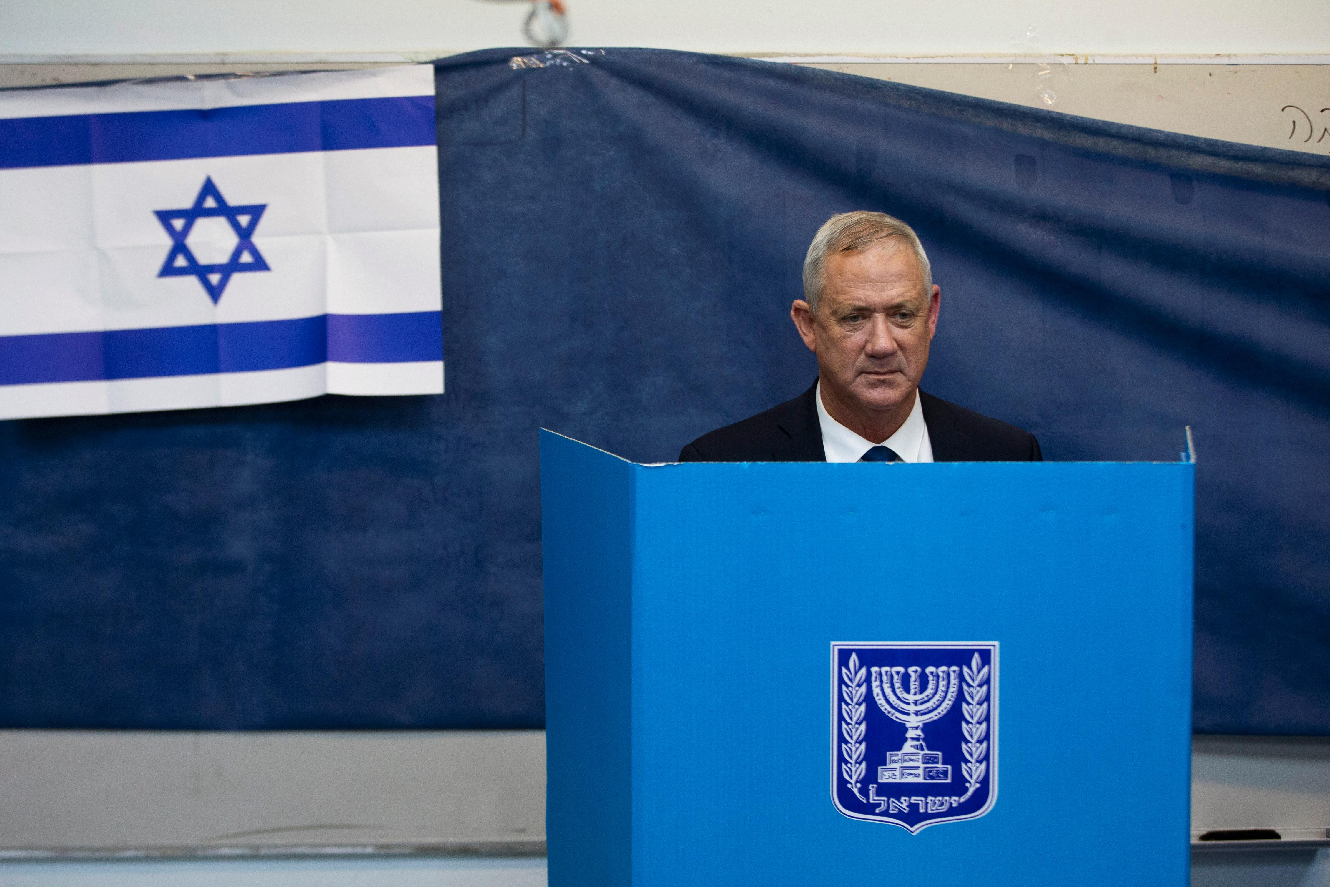Warning of election 'disaster', Israel's Netanyahu battles for survival