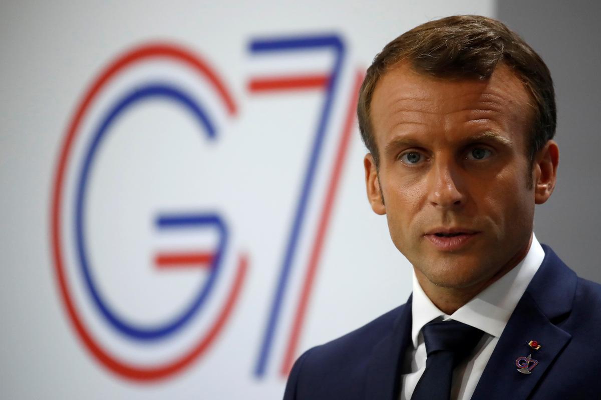 Macron se bekommerde aanval op Saoedi-olie kan bewegings beseer om die VSA-Iran-krisis te vergemaklik: diplomate