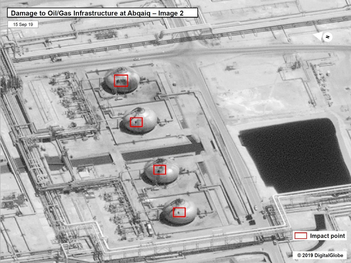 Saoedi-olieproduksie herstel binne twee of drie weke na die aanval: bronne