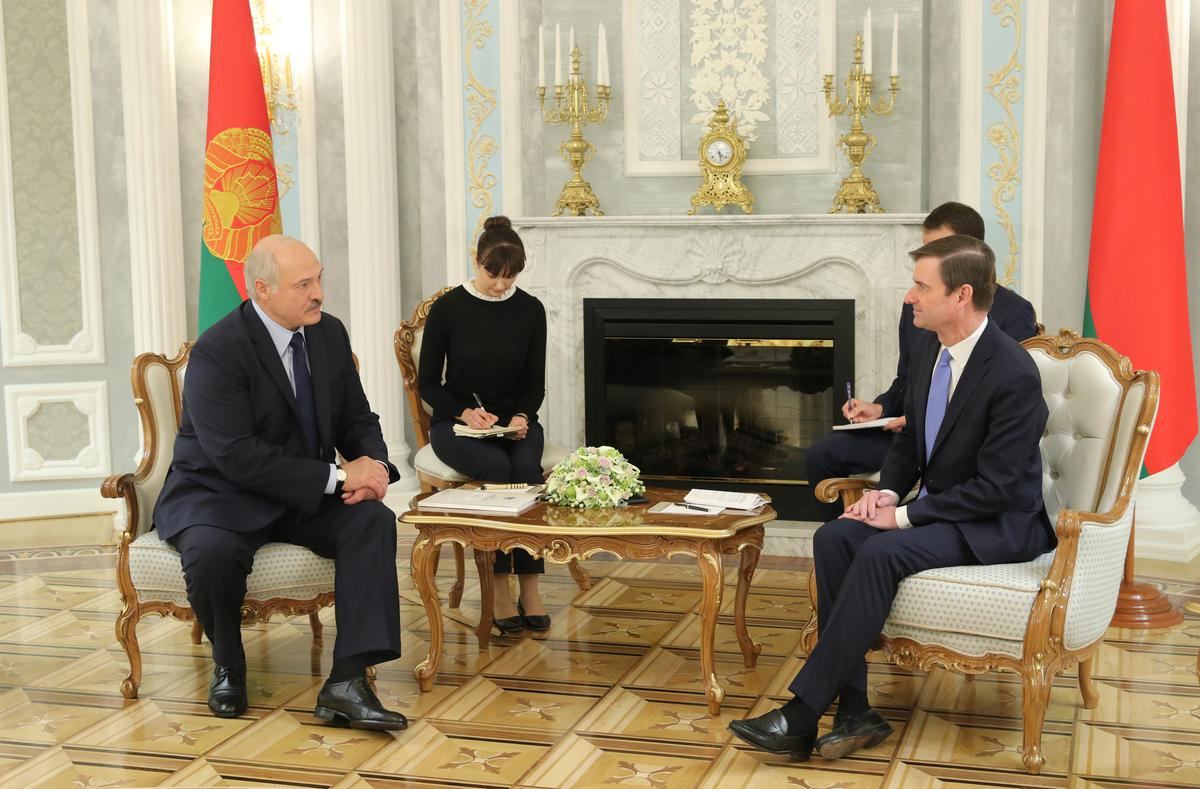 Belarus, U.S. look to bring back ambassadors after 10-year hiatus