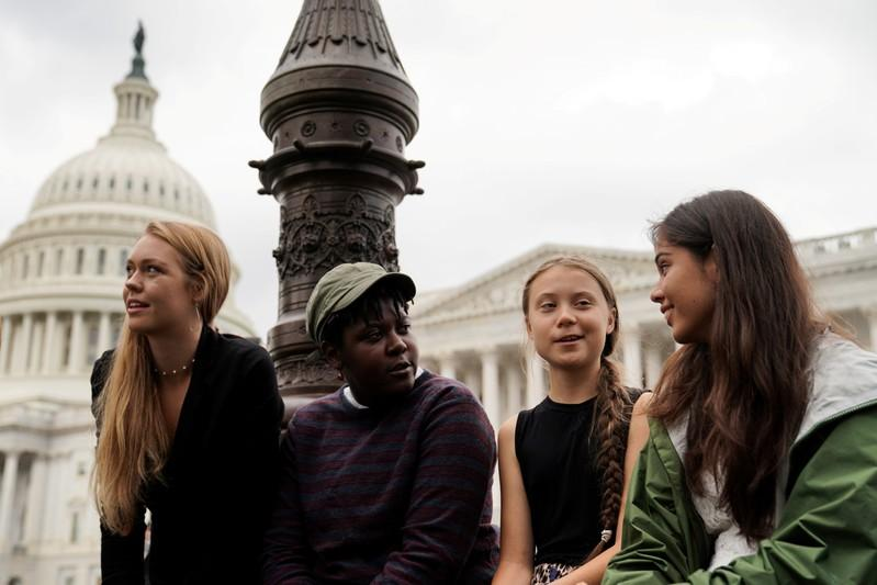 Swedish climate activist Thunberg asks U.S. Congress for action, not praise