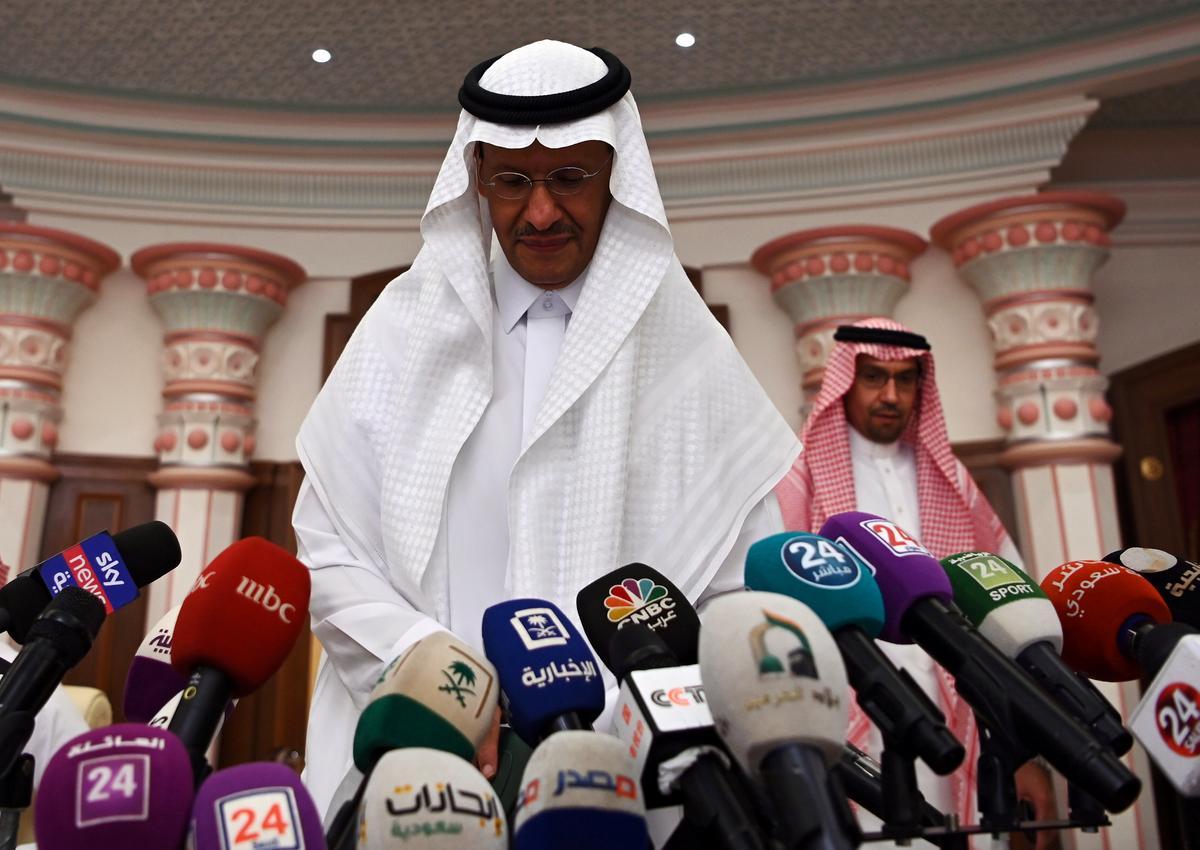 Saoedi-minister van energie sê geen dringende OPEC-vergadering nie: Al Arabiya TV