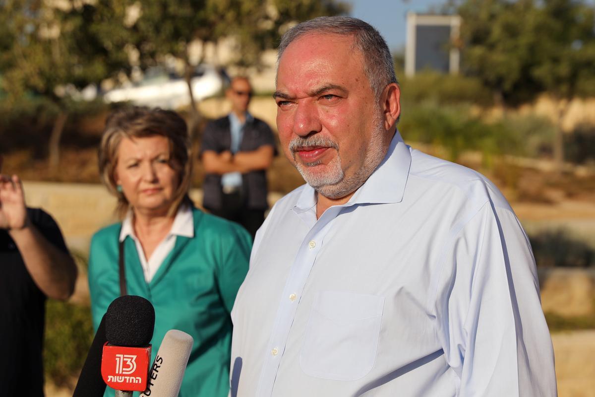 Lieberman, Israel, vra vir eenheidsregering