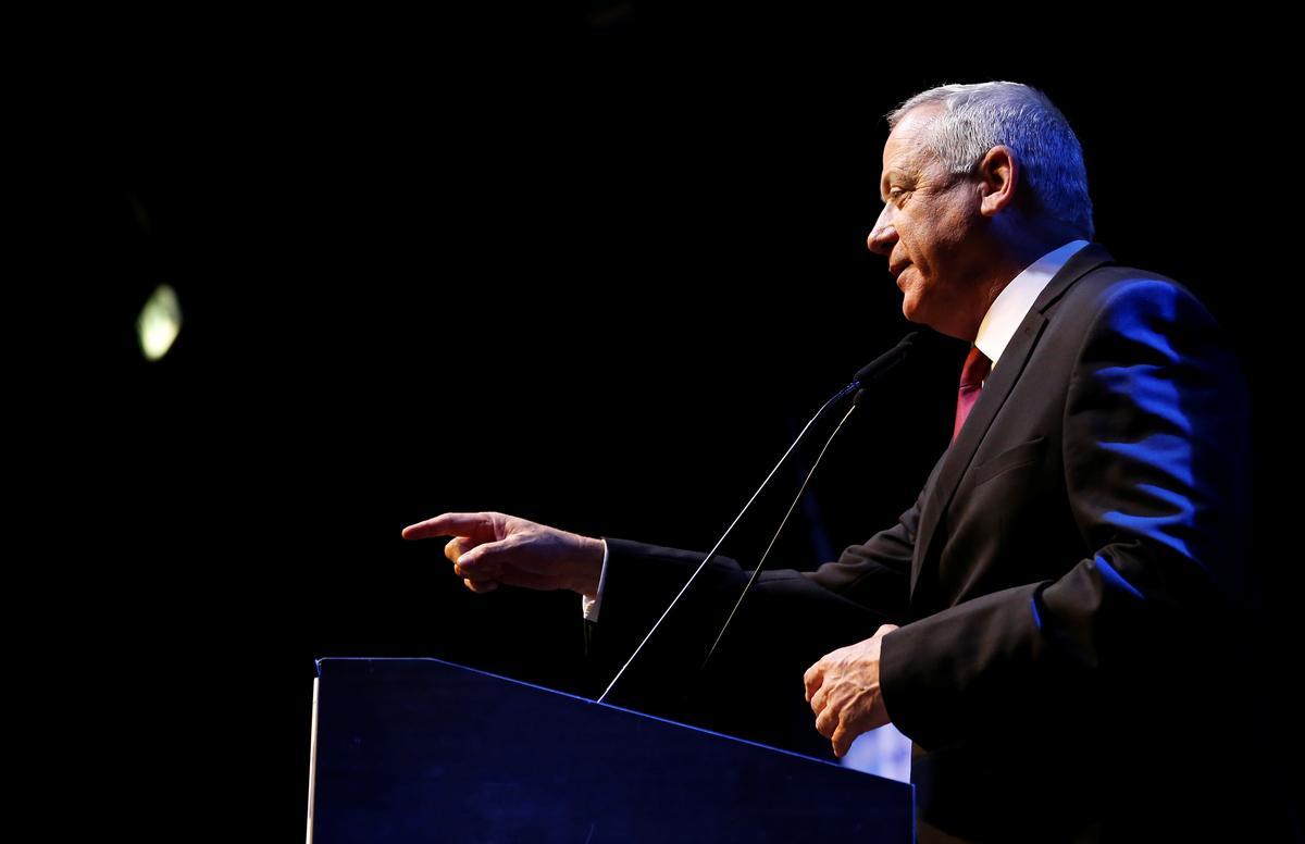Volgens Gantz, die Netanyahu-verkiesingsmededinger, sal hy werk vir eenheidsregering