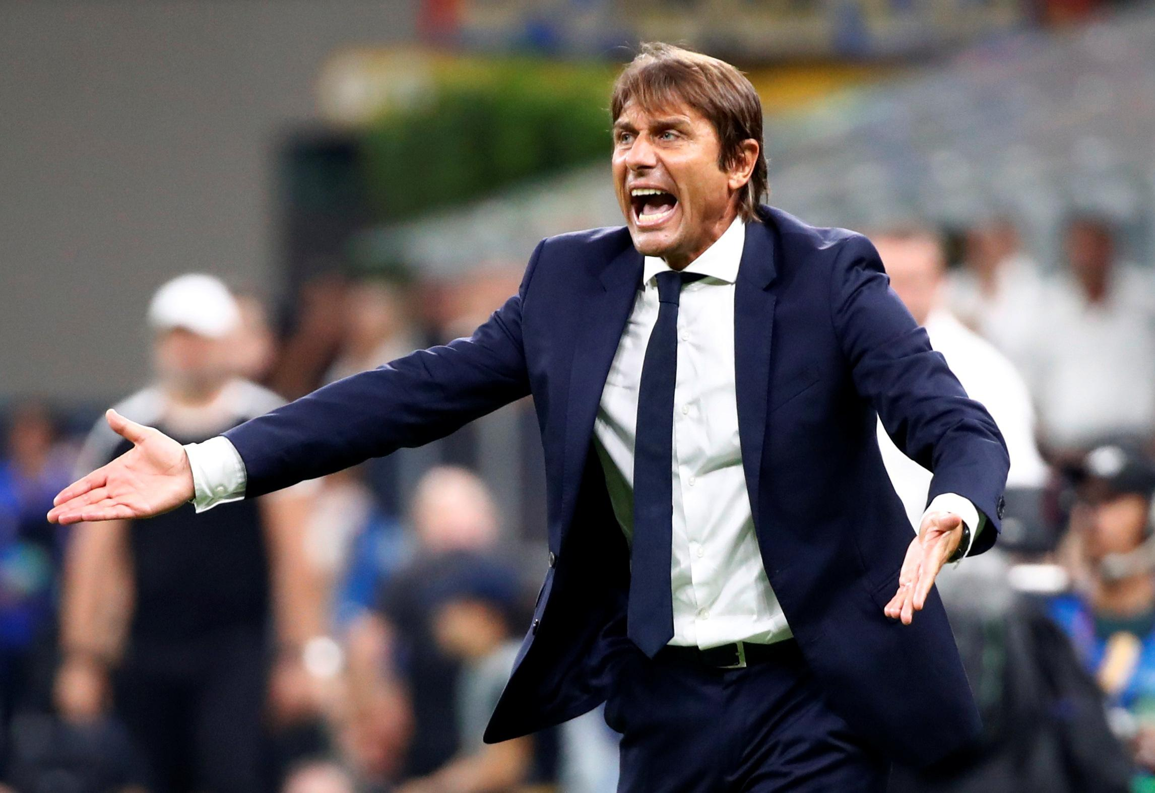 Inter's Conte blames wrong kind of football for European frustration