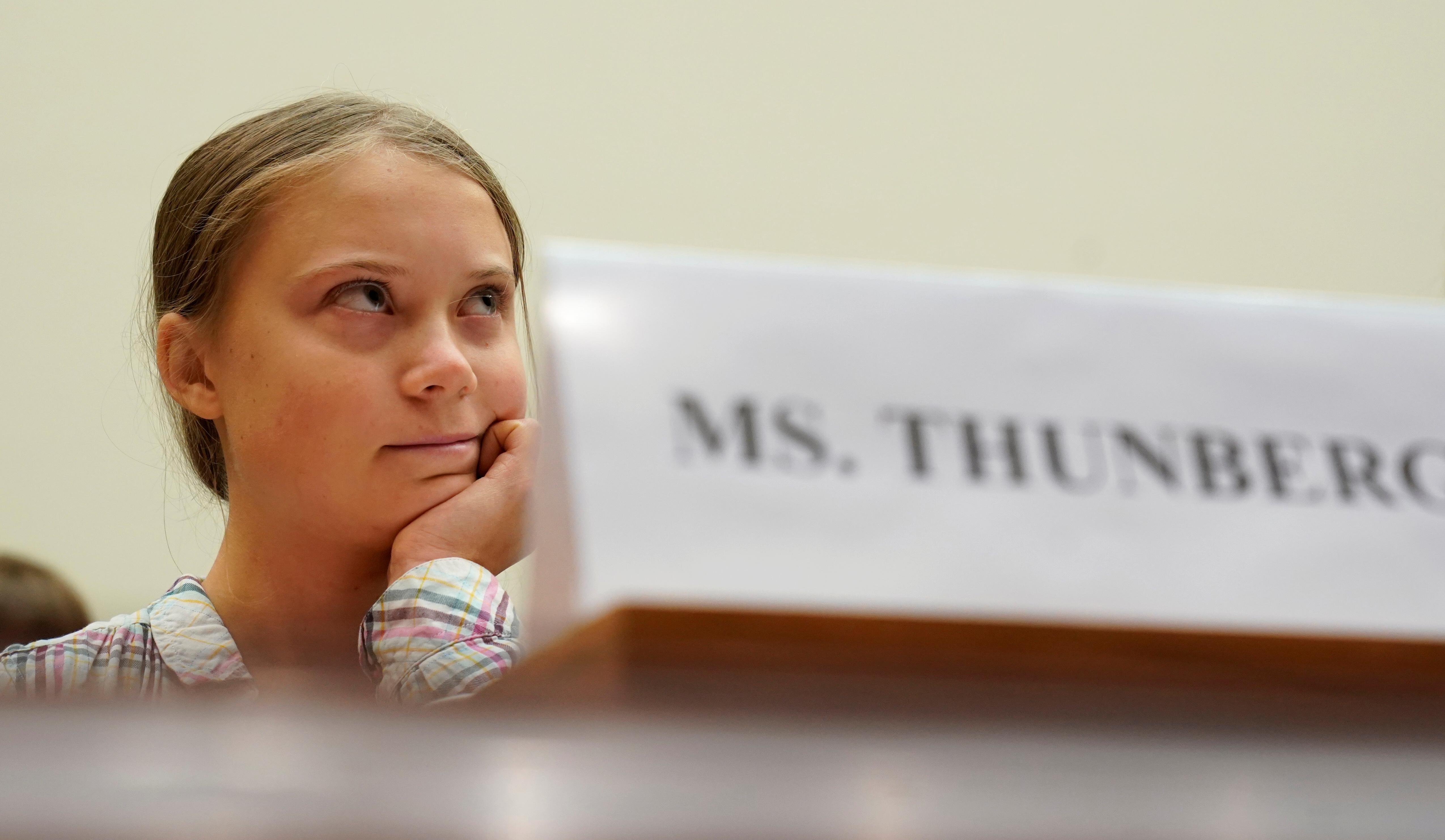 Greta Thunberg au Congrès: «Ne m'écoutez pas. Écoutez les scientifiques