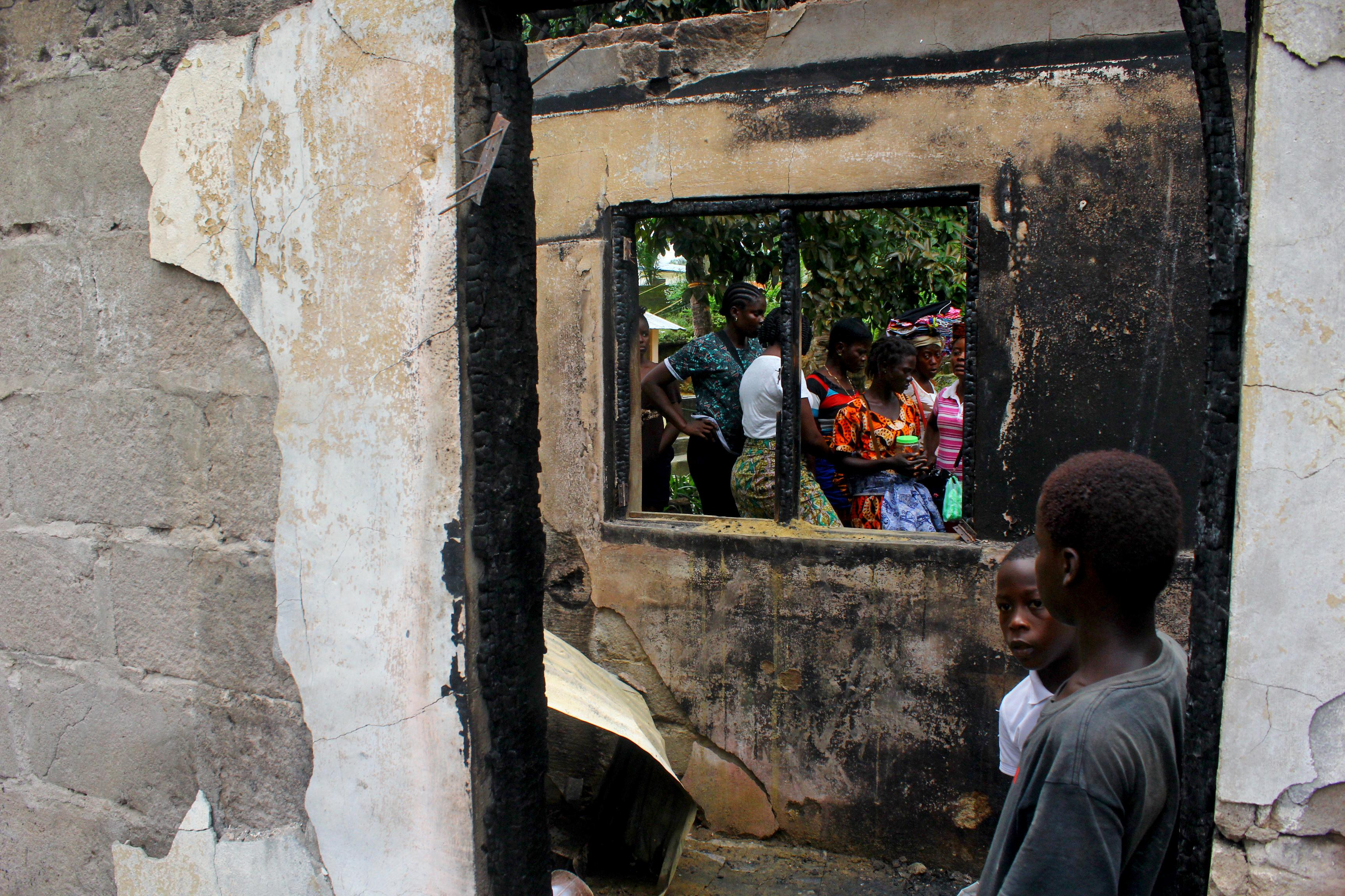 Fire in Liberia school kills at least 27 children