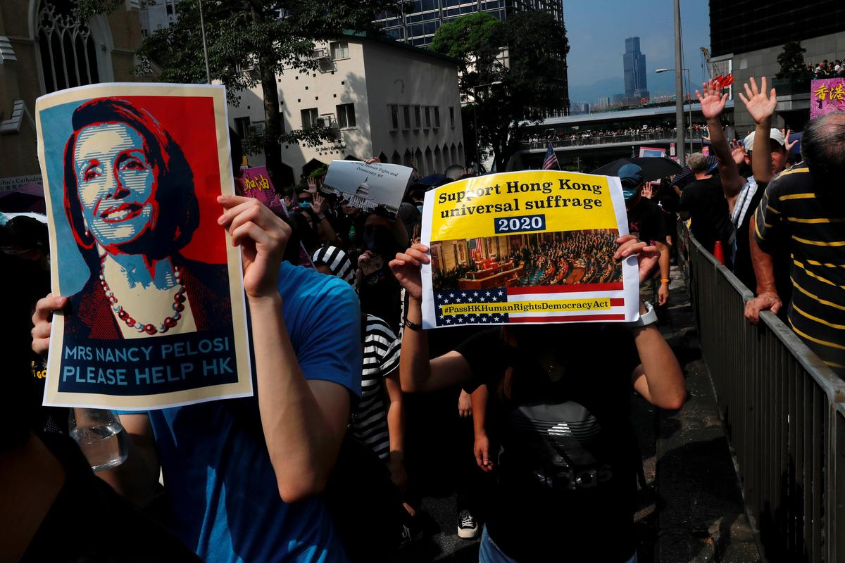 Amerikaanse Kongres om 'Hong Kong Human Rights and Democracy' wetsontwerp voor te lê
