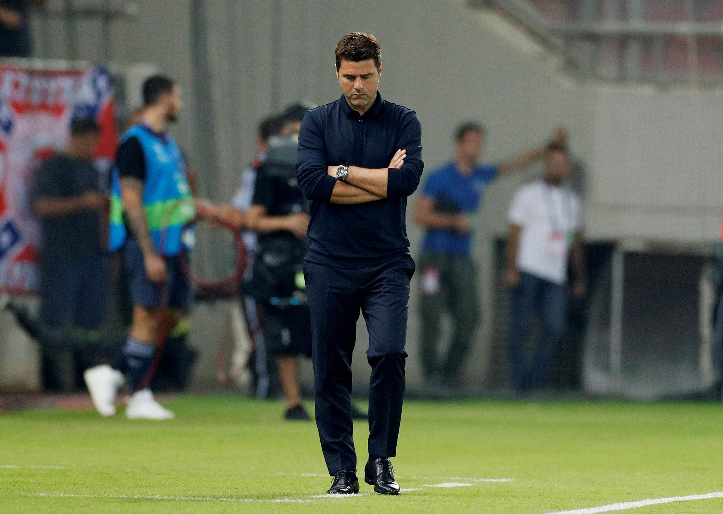 Pochettino criticises players as Tottenham blow lead in Athens