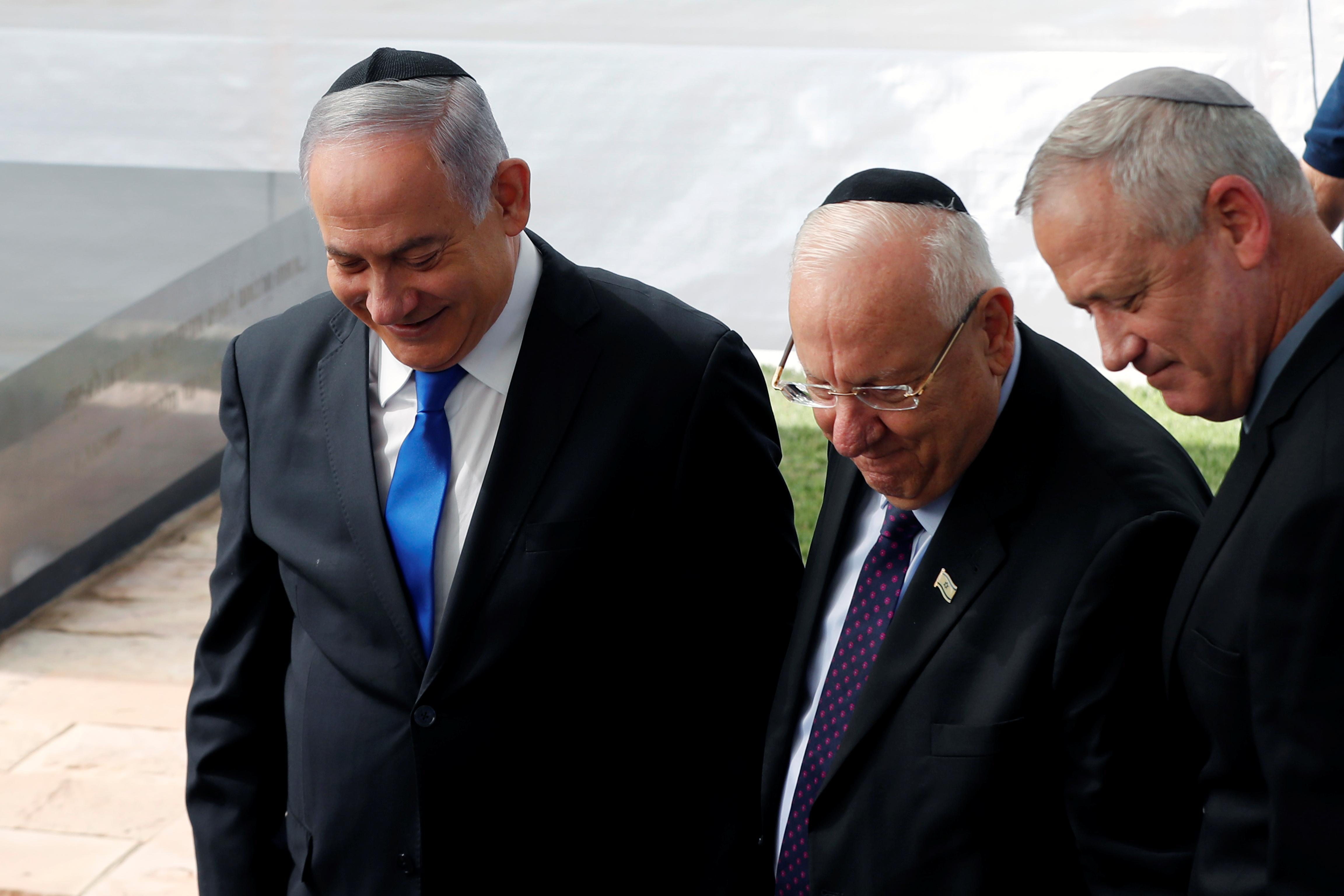 Weakened Netanyahu's offer of unity government rebuffed by rival Gantz
