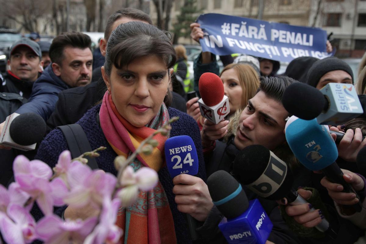 Roemeens teen-ent-kruisvaarder is die aanklaer van die EU nadat hy 'n EU-stem gewen het