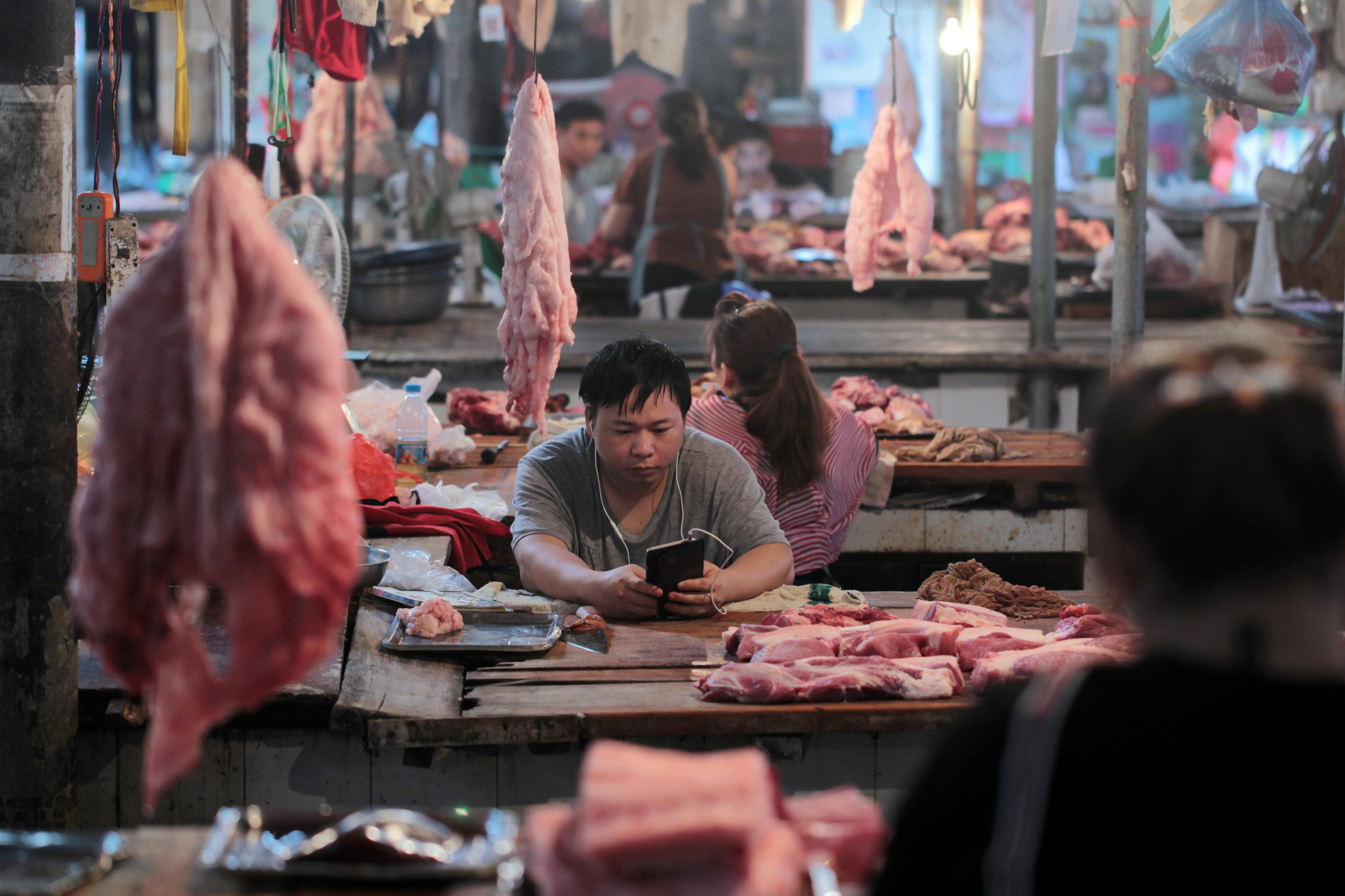 China to release more meat from state reserves to secure supplies