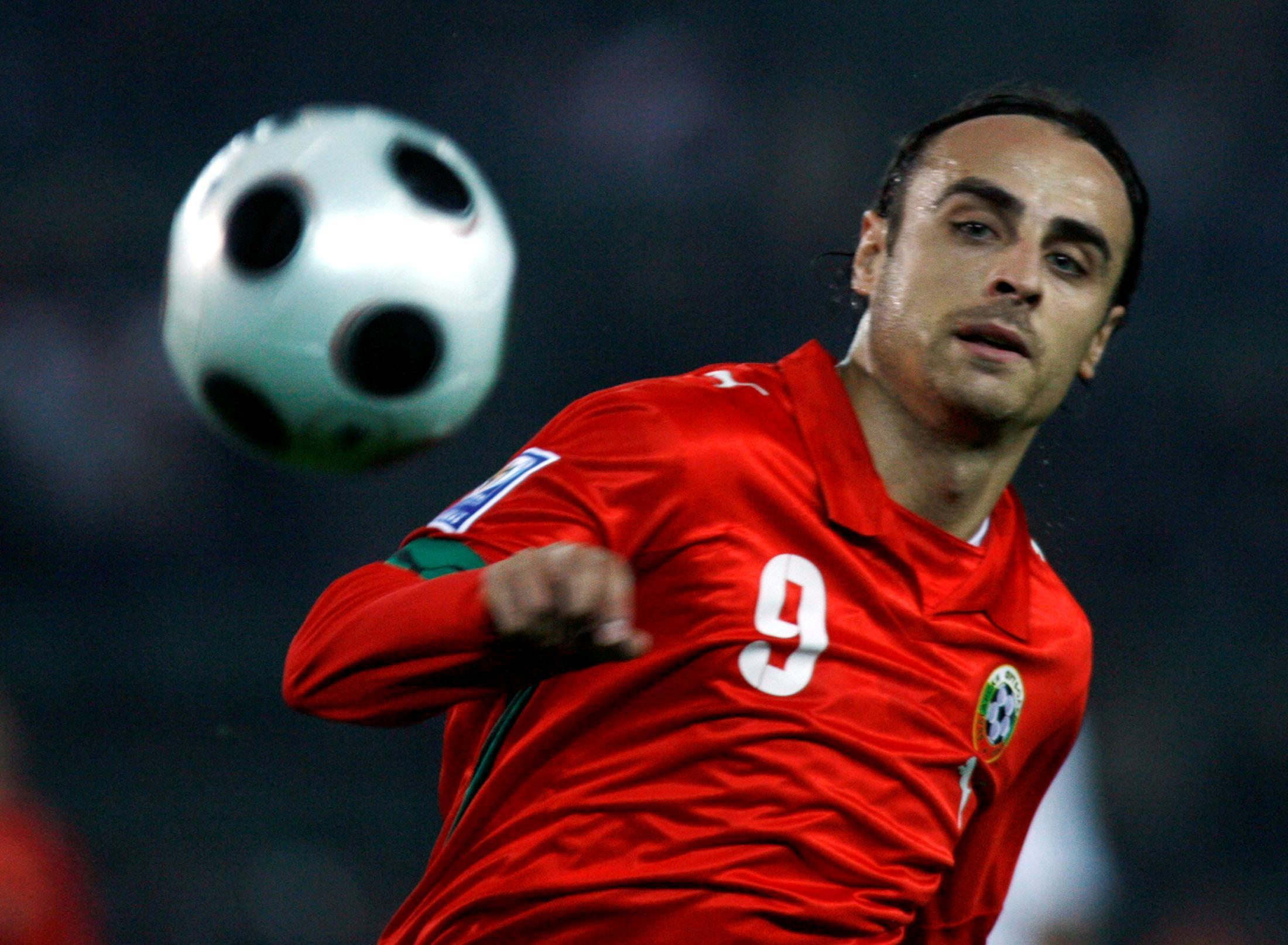 Bulgaria's record goalscorer Berbatov announces retirement