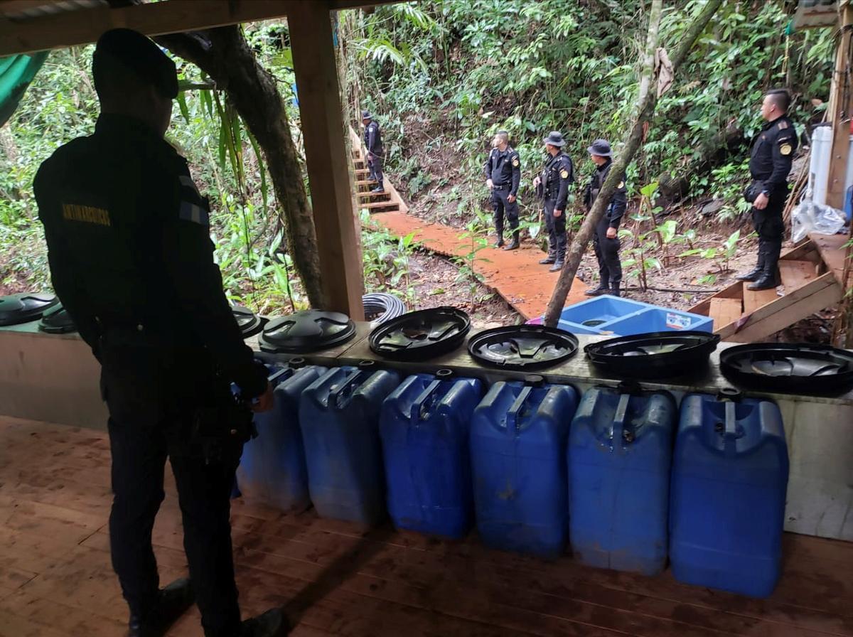 Guatemala vind koka-aanplantings en laboratoriums, erken nou 'n produserende land