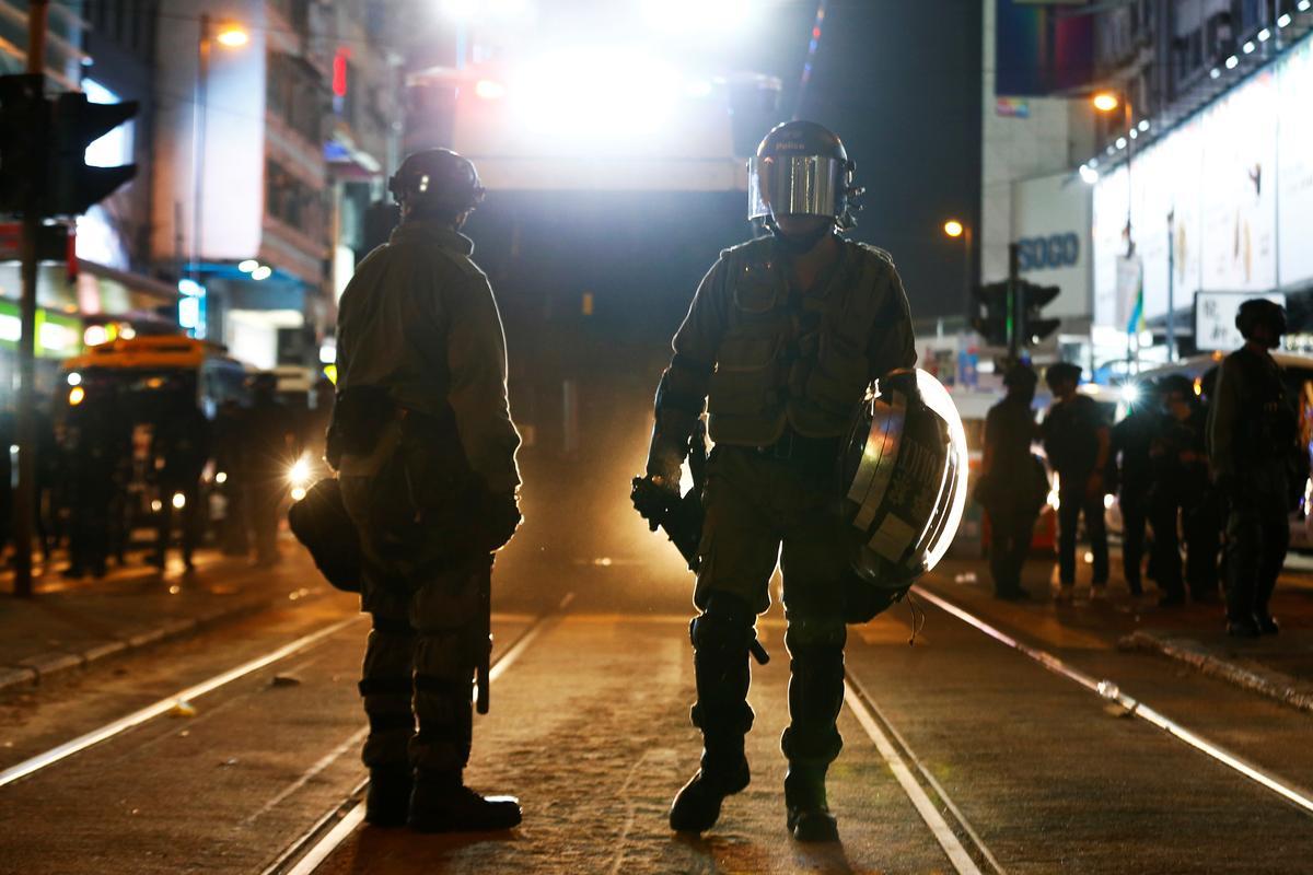 Amnesty beskuldig die polisie in Hong Kong van mishandeling, marteling van betogers