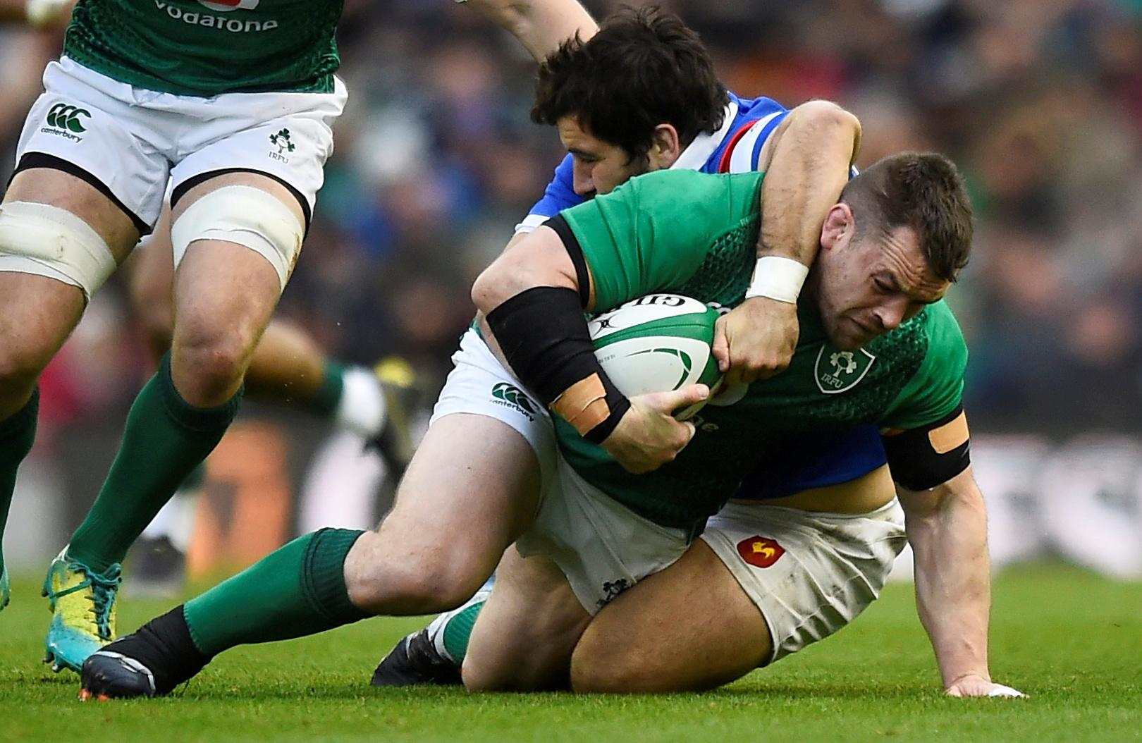 Irish prop Healy relishes Japanese sumo tips