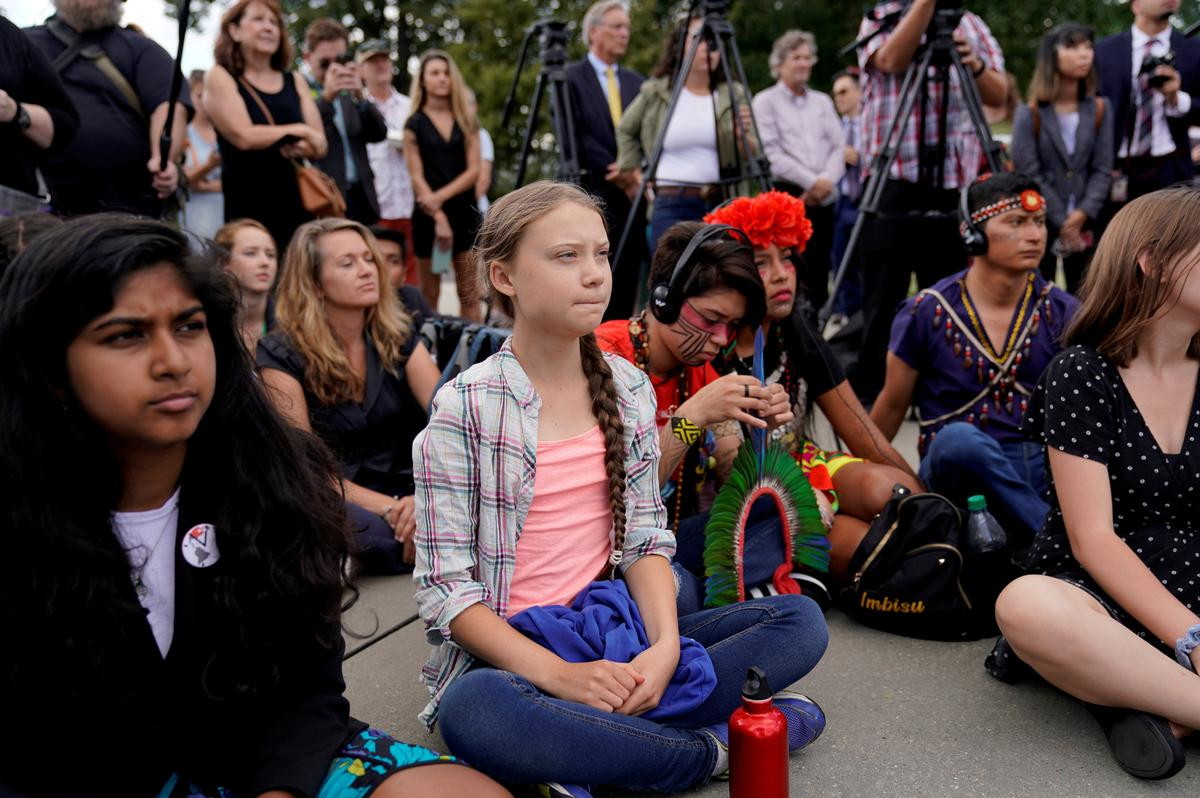 Millions of young people, led by Sweden's Thunberg, to strike for...