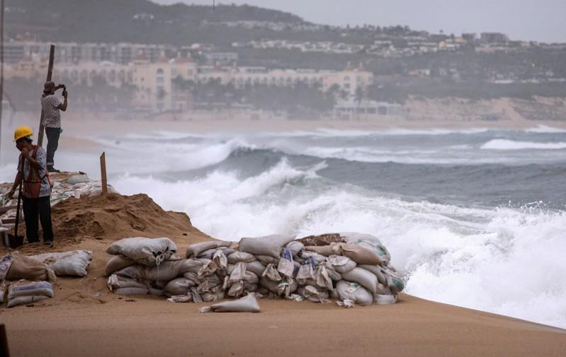 Hurricane Lorena drenches parts of Gulf of California, moves north...