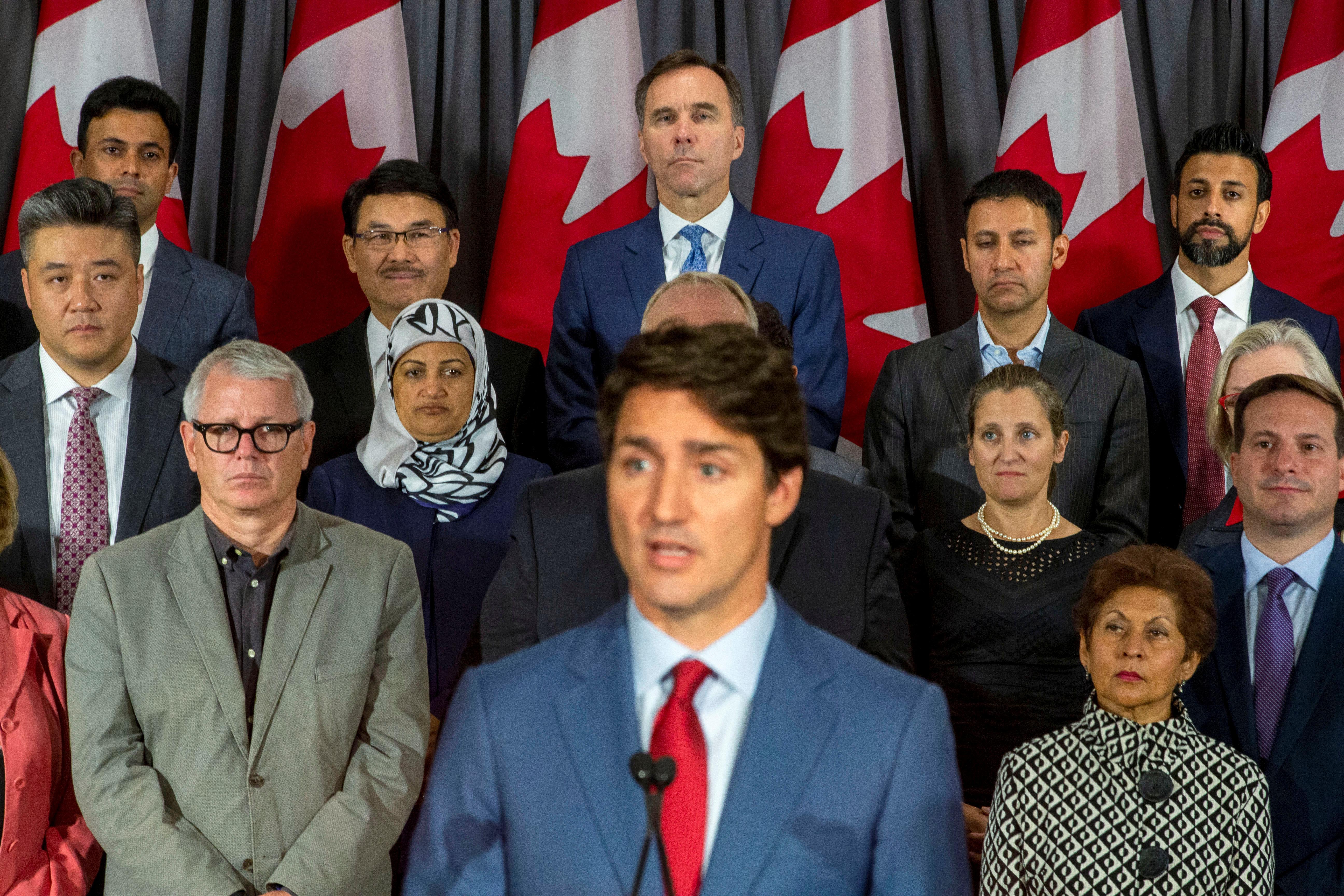 Canada's Trudeau pledges assault rifle ban, pivots campaign amid...